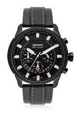 Relógio Orient Cronógrafo Mpscc006/p1pb - Preto