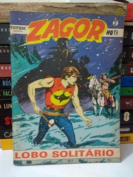 Zagor Nº2 Lobo Solitário (frete Grátis) Record