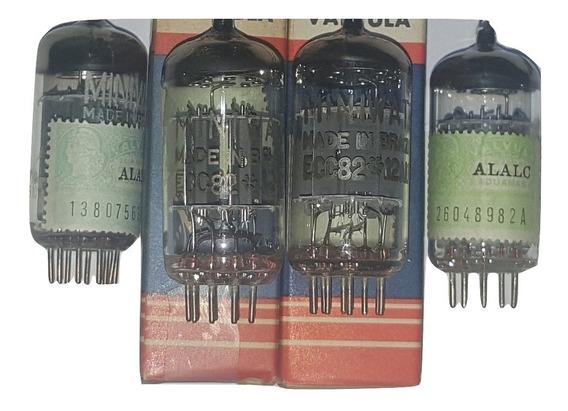 Válvula Electrónica 12au7 Ecc82 Nos Miniwatt