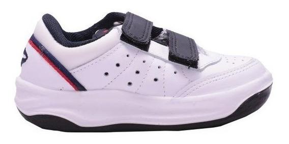 Zapatillas Topper X Forcer Velcro Bla/azu De Niños
