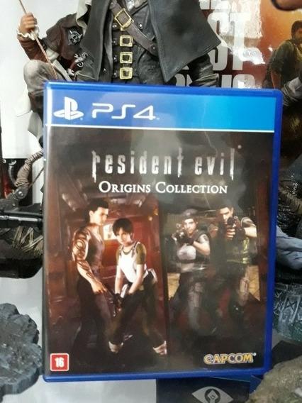 Jogo Resident Evil Origins Collection Playstation 4 Ps4 Novo