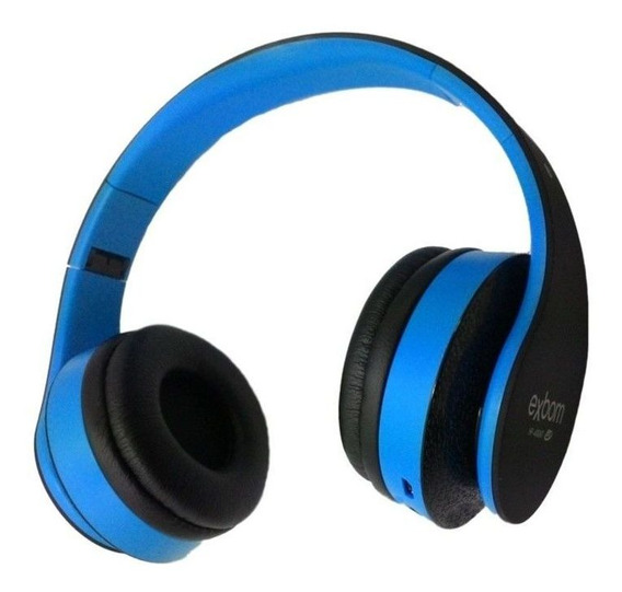 Headphone Bluetooth Hf 400 Bt Azul Exbom