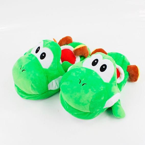Pantuflas Yoshi Super Mario Bros Unisex