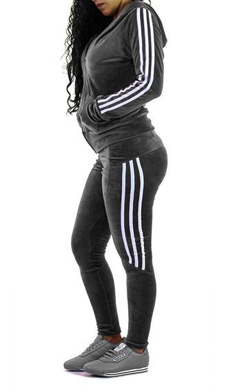 Conjunto Deportivo Dama Pants Sudadera Leggings Ropa 05