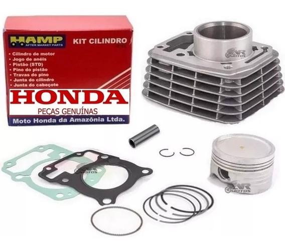 Kit Cilindro,pistão,anéis Original Honda Titan/ Fan/bros 150