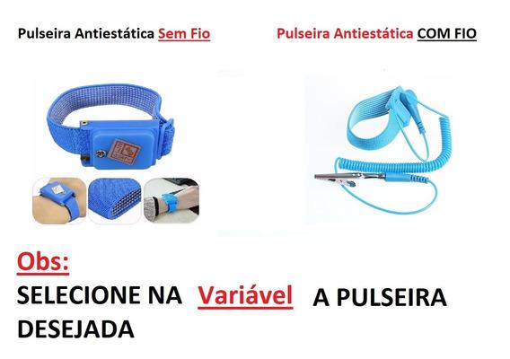 Kit Antiestático Manta S160 + Pulseira Antiestatica