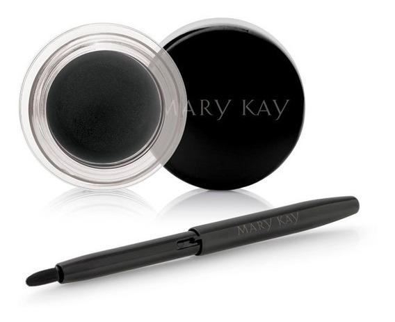 Delineador Em Gel Para Os Olhos Black Mary Kay Com Aplicador