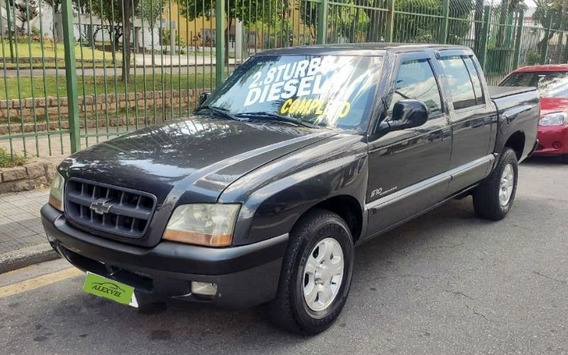 Chevrolet S10 2.8 4x2 Cd 12v Turbo Intercooler 2002 Completa