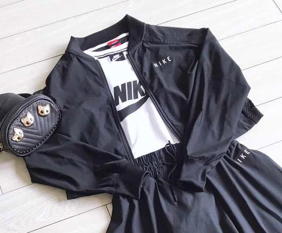 Campera Nike Mujer Original Running Urbana Talle M