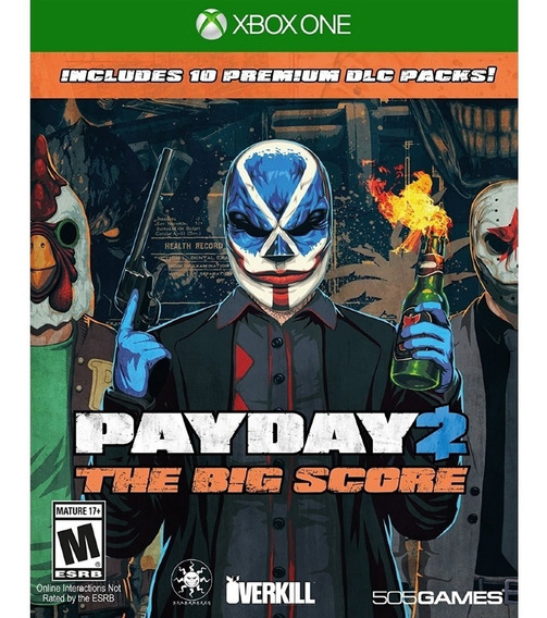 Payday 2: The Big Score - Xbox One