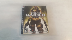 Jogo The Tomb Raider Underworld - Ps3 - Original Fisica