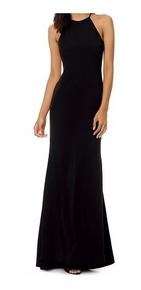 Vestido Longo Básico Alça Fina Acinturado Casual Dia Vl210