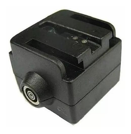 Adaptador Hot Shoe Sapata Câmera Canon Nikon Hc-6 Flash Sony