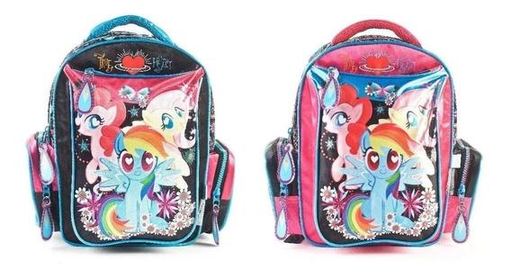 Mochila My Little Pony Espalda Glitter 12