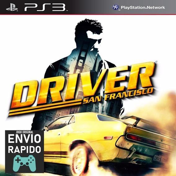 Driver San Francisco - Jogos Ps3 Play3