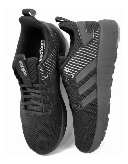 Tênis adidas Questar Byd Comfort Têxtil Preto Masculino