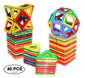 Tejas Magnéticas Bloques De Construcción Toys By Dreambuilde