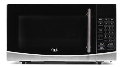 Microondas TST 30 Litros  plata y negro 30L 220V