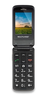 Celular Flip Vitamultilaser Dual Chip Mp3 Vermelho P9021