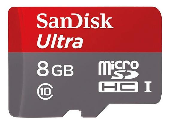 8gb 8 Gb Cartão Memória Micro Ultra Sdhc Uhs-i F500 A@