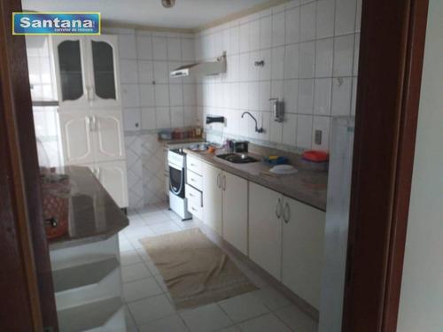 Apartamento Com 2 Dormitórios À Venda, 62 M² Por R$ 210.000,00 - Centro - Caldas Novas/go - Ap0822
