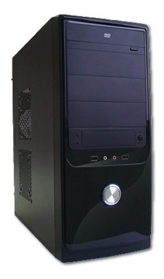 Cpu Nova Dual Core 4gb Hd 500 Gb Dvd Wifi 1 Ano Garantia