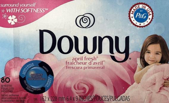 Downy Sheets Para Secadoras De Roupas - Importado