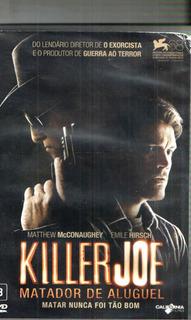 Dvd Killer Joe Matador De Aluguel Original