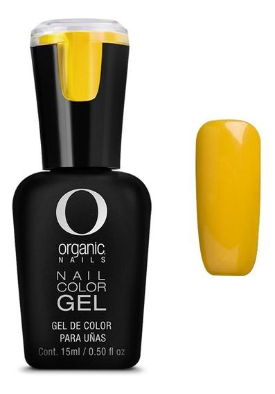 Color Gel Esmalte Uñas By Organic Nails Color Sailor Sun