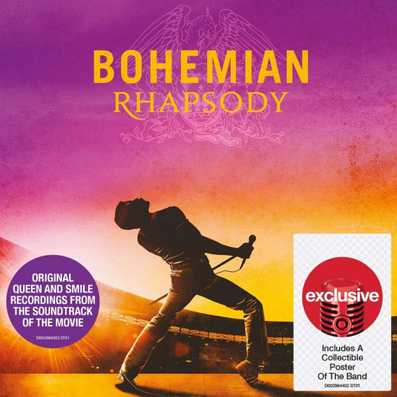 Cd Importado Queen Bohemian Rhapsody Target Exclusivo