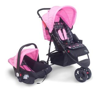 Carrinho Urban Com Bebê Conforto Baby Style 3rodas