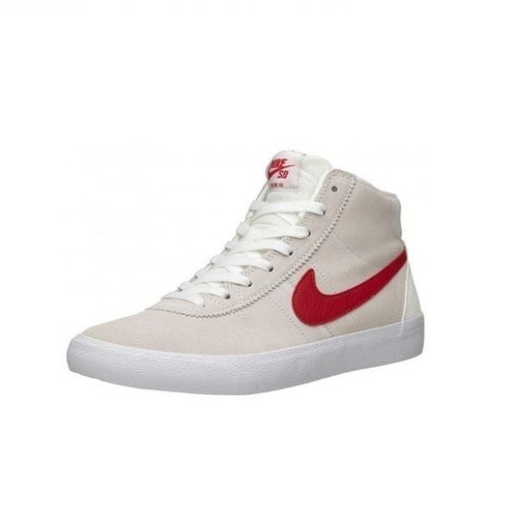 Zapatillas Nike Sb Bruin Hi Summit White Red Botita Original