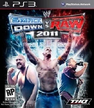 Jogo Wwe Smackdown Vs Raw 2011 Playstation 3 Ps3 Frete Gráti