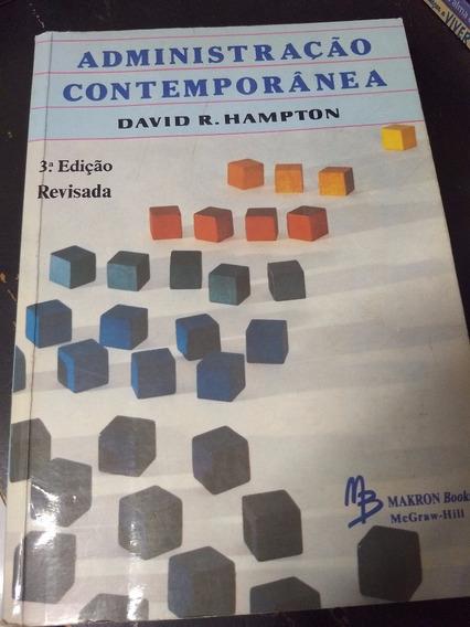 Livro Administração Contemporânea - David R. Hampton