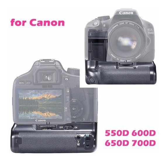 Battery Grip Para Canon Nikon 70d T2i T3i T4i T5i 1100d