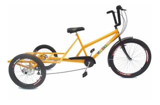 Triciclo De Carga Traseira - 7 Vel. - 3 Opções De Cores