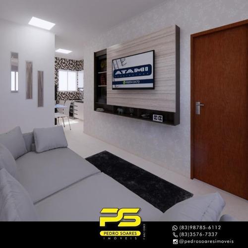 Apartamento Com 2 Dormitórios À Venda, 57 M² Por R$ 140.000 - Mandacaru - João Pessoa/pb - Ap3801