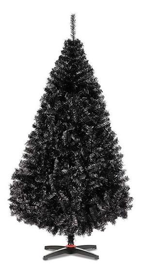 Arbol De Navidad Naviplastic Monarca De Lujo Negro 160cm