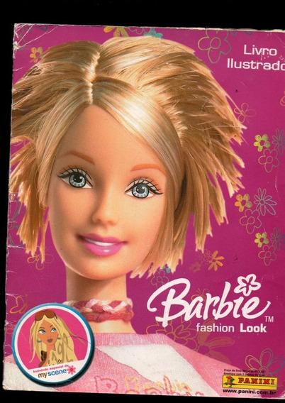 Álbum De Figurinhas Barbie Fashion Look - Completo