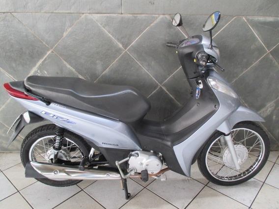 Honda Biz 125 Cinza 2015