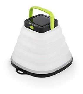 Objetivo Zero Crush Light Solar Powered Power Linterna