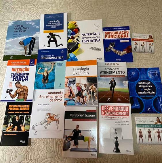 Educação Física Bacharelado - Kit Com 13 Livros + 2 Dvd