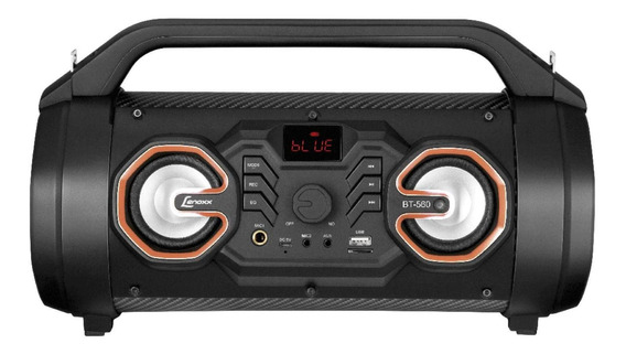 Speaker Lenoxx Bt560 Com Bluetooth Micro Sd E Usb 60w