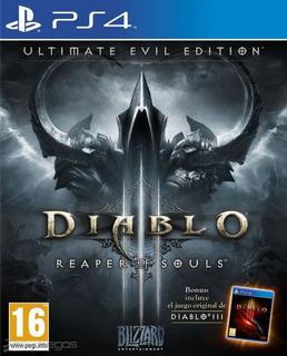 Diablo 3 Ultimate Edition Ps4 - Juego Fisico - Prophone