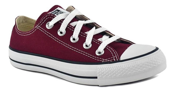 Zapatilla Converse Chuck Taylor All Star Ox Bordo