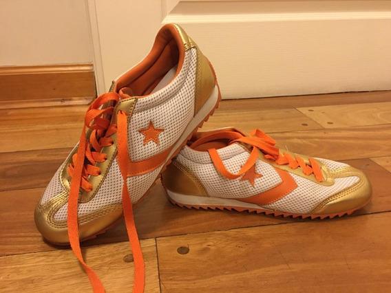 Zapatillas Converse. Lona. Casi Sin Uso. N° 37