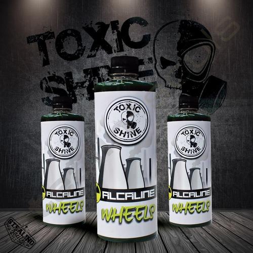Toxic Shine | Alcaline Wheels | Limpiador Alcalino | 600cc