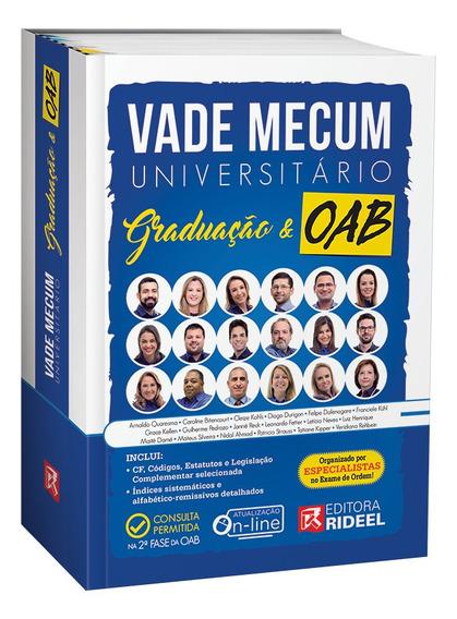 Vade Mecum Universitário Graduação E Oab 2019