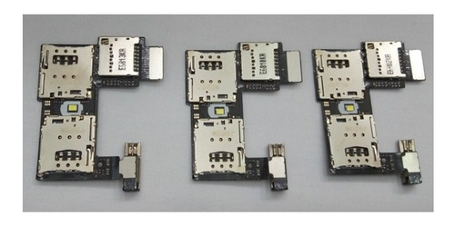 Flex De Simcard Para Motorola G2 De 2 Piezas