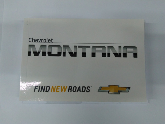 Manual Do Proprietário Completo Nova Montana 2011/2019 Gm